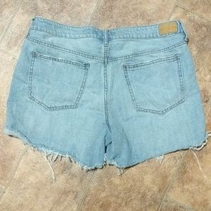 Aeropostale Shorts - Distressed high waist shorts